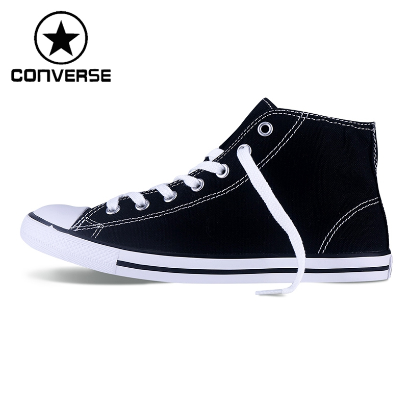 Original New Arrival 2017 Converse Dainty Women's Skateboarding Shoes Canvas Sneakers euroschirm dainty black