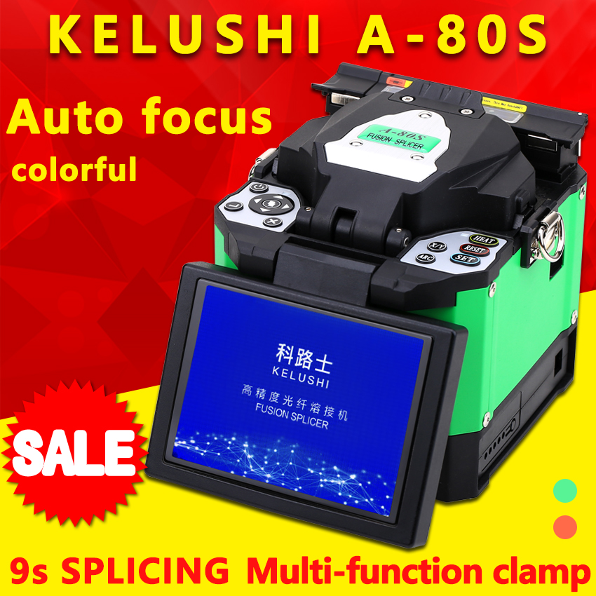 A-80S Automatic Intelligent Optical Fiber Fusion Splicer FTTH Optical Fiber Welding Splicing Machine