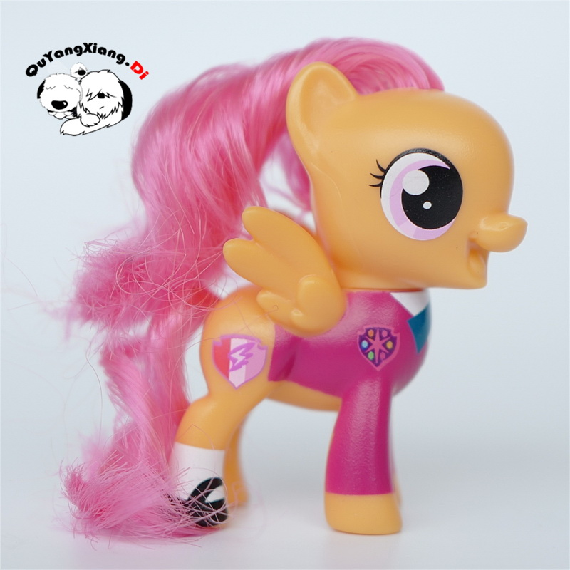 P6-08 Action Figures 6.5cm Little Cute Horse Model Doll Parties Crusaders Scootaloo Anime Toys for Children(China)