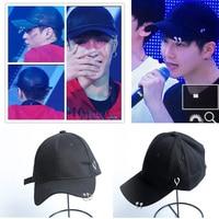 Hot Sale EXO Concert Style Cap Harajuku Hat Ulzzang Cap Lay Luhan Suho Baekhyun Chanyeol Chen