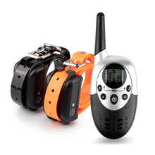 все цены на 1000M Pet Dog Training Collar Pet Training Collar Dog Trainer Waterproof Rechargeable Remote Electric Shock For Two Dogs онлайн
