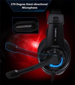 Image 4 - Rabat LPS G1 muzyka Super bas gamingowy zestaw słuchawkowy Casque słuchawka Audio światło słuchawki z mikrofonem na komputer komputer dla graczy