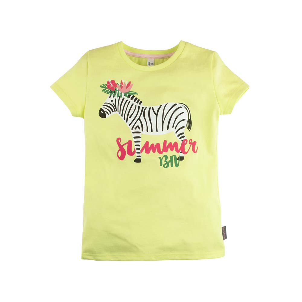T-Shirts BOSSA NOVA for girls 251b-161 Top Kids T shirt Baby clothing Tops Children clothes kids outfits letter pattern t shirts in white