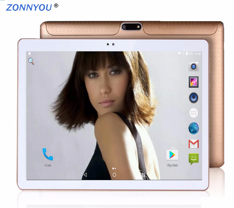 10.1 Inch Phone Call Android Octa Core Tablet Pc Android 8.0 4GB 32GB WiFi 3G External FM Bluetooth 4G+32G Tablets Pc 5Mp Camera