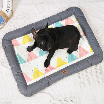 Dog Bed Patterns Soft Cool Sofa Mat House Cat Pet Cushion for Small Large Dogs Big Blanket Supplies Dog Products Pet Accessary