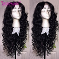 Long Curly Full Lace Human Hair Wigs For Black Women Brazilian Hair Wig Curly Lace Front Human Hair Wigs Glueless Full Lace Wigs