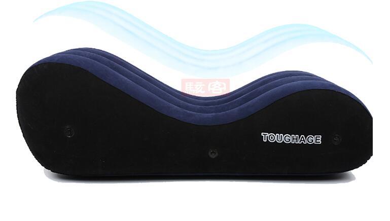 Toughage Portable Gonflable De Luxe oreiller chaise Adulte de Sexe Lit Utile Adulte de Sexe Canapé Pad Adulte de Sexe Meubles Plaisir PF3207