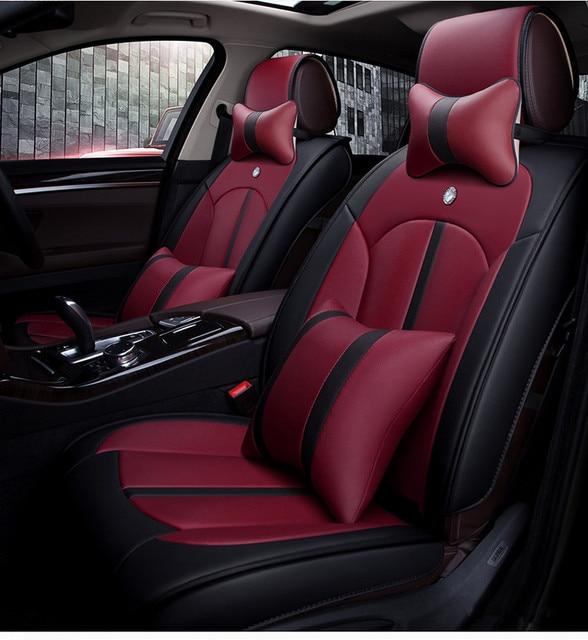 Full Set Car Seat Covers For Hyundai Sonata 2018 2017 Comfortable Durable Free Shipping