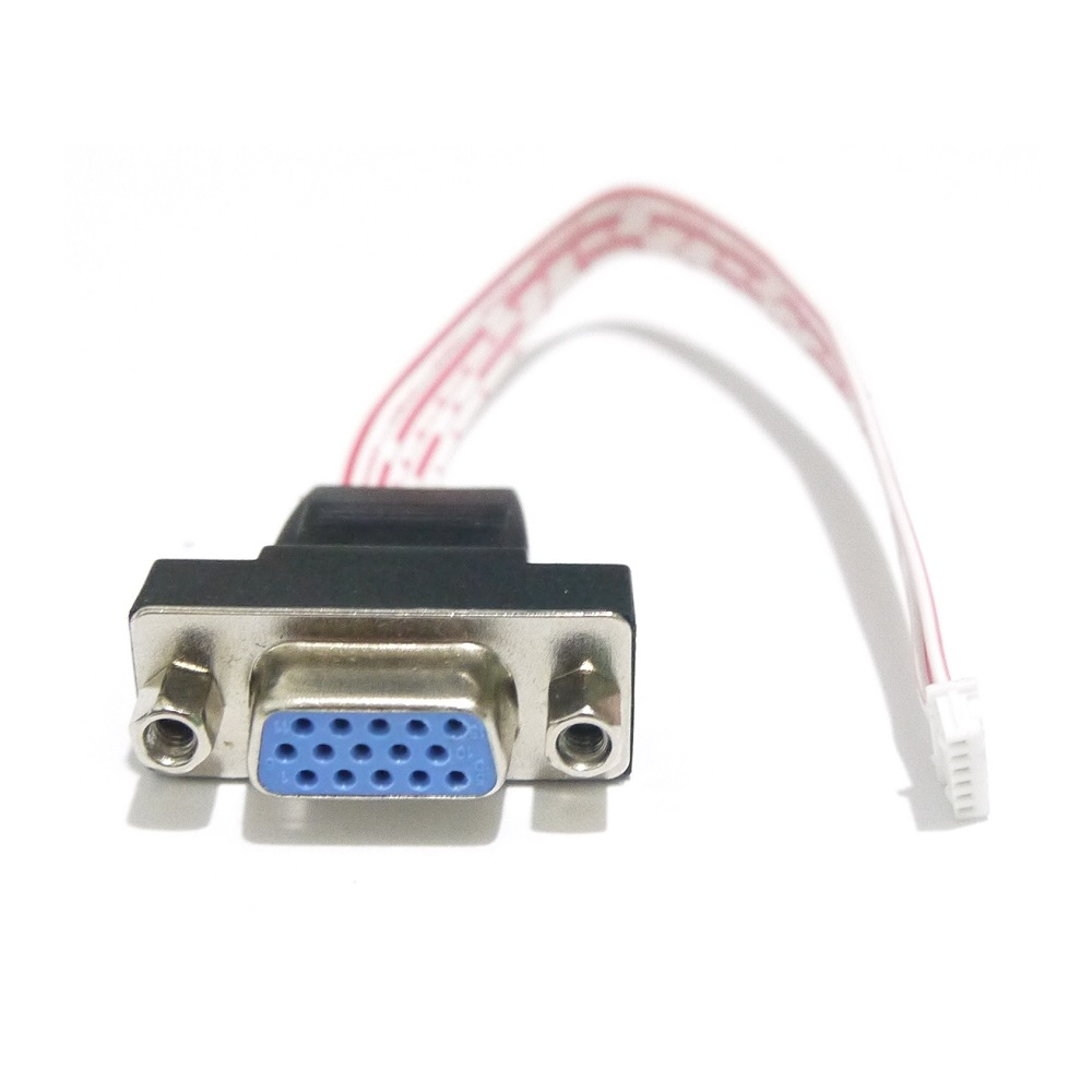medium resolution of aliexpress com buy vga 6 pin 1 25mm port cable for cctv dvr nvr cctv to vga wiring diagram