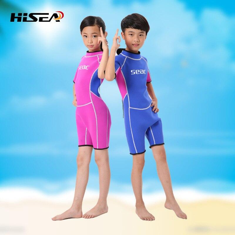 Novi 2.5MM kratki rukavi Neopren odijela dječaci surfanje djeca osip - Sportska odjeća i pribor