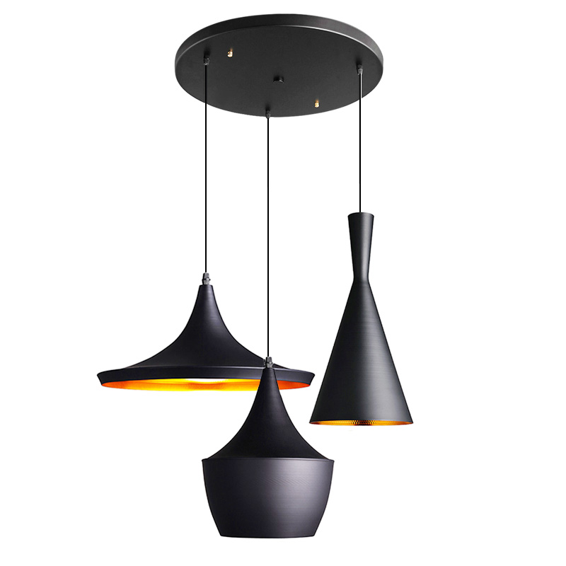 tom dixon style lighting. Modern Pendant Lights Design By Tom Dixon Beat Musical Instrument ABC Light Hanging Lamp E27 Base Restaurant Cafe Home-in From Style Lighting O