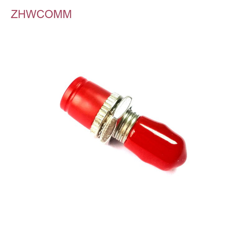 ZHWCOMM 50pcs ST-FC SM MM Fiber Optic Adapter High Quality Coupler Red Color Flange Head Free ShippingZHWCOMM 50pcs ST-FC SM MM Fiber Optic Adapter High Quality Coupler Red Color Flange Head Free Shipping