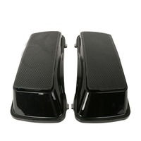 Dual 6x9 Speaker Lids For Harley Touring Saddlebag Road King Street Glide 93 13 Motorcycle