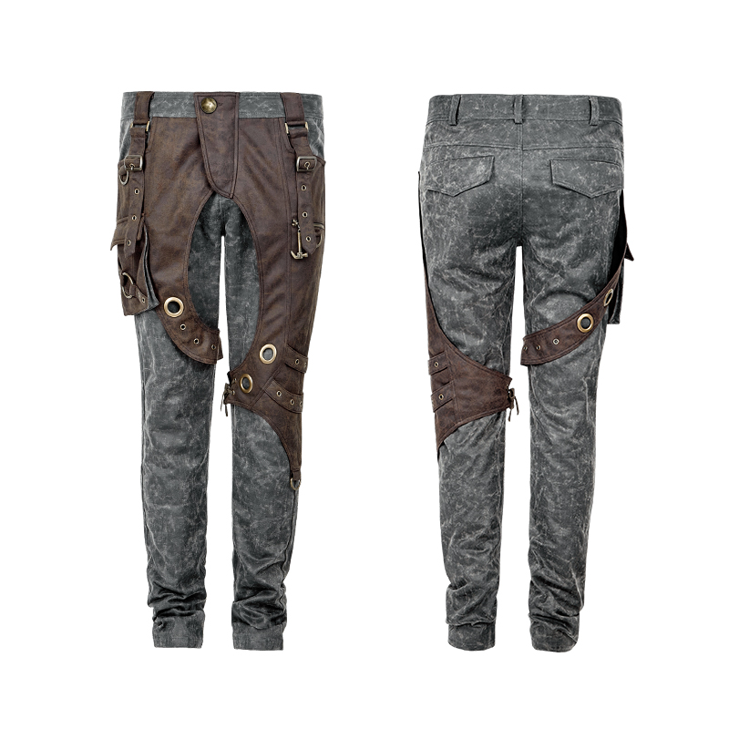 Steam Punk Fashion Men's Pants Pocket Long Trousers Two Tone Causal Cargo Pants professional recording sound wired condenser lecture microphone with black mic stand laptop microphone xlr cable recording