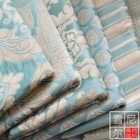 1 4 Wide Quality Thickening Fashion Sofa Cushion Sofa Cover Flower Jacquard Fabric 066