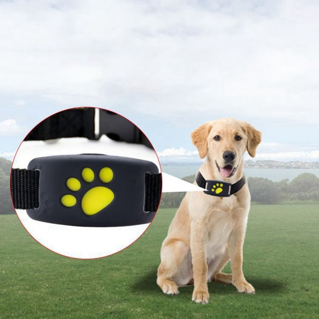 Dog Collar with GPS Trackers Adjustable Straps Pet Base Collar GPS Collar Locator Smart Anti-fall Wireless Dog Monitor Finder