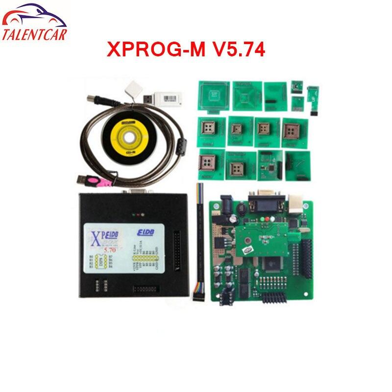 Newest Version XPROG-M 5.74 WIth USB Dongle ECU Programmer Update Xprog M V5.72 5.70 ECU Chip Tuning X-Prog box 5.60 Xprog 5.55