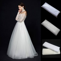 3 meters wide 120 inches wide tulle Nylon mesh fabric wedding dresses veil material 50 yards long tutu skirts party decoration