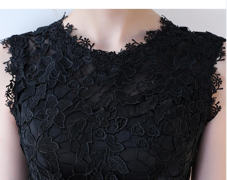 Junior robe de bal dentelle nouvelle robe de soirée beaucoup de couleur disponible dentelle courte robe de soirée formelle 2018 robes de bal vestido de festa - 6