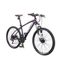 Aluminum Alloy Frame 24 Speed 26 Inch Mountain Bike Adult And Male City Riding Speed Off Road Racing|Bicycle| |  -