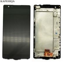 5,3 «для LG X power K220 K220DS F750K F750K LS755 X3 K210 US610 K450 ЖК-дисплей Дисплей Сенсорный экран планшета в сборе с рамкой кадра