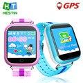 Дети GPS Часы Q750 WIFI 1.54 сенсорный экран дети раннего обучения умный малыш часы Анти-упал сигнализации SOS Вызова шагомер pk q90 q50