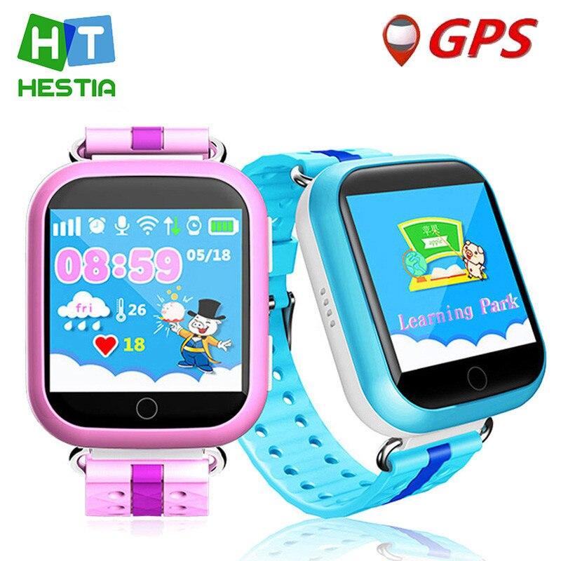 Kids GPS Watch Q750 WIFI 1 54 touch screen kids early learning Smart baby watch Anti
