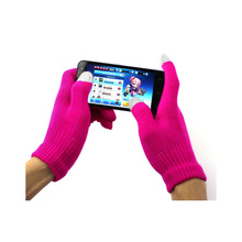 Luck Dog Touch Screen Gloves Texting Winter Knit for Smartphone iphone I9300