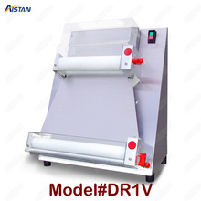 цены DR1V/DR1V-FP electric counter top stainless steel pizza dough roller machine pizza making machine dough sheeter