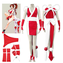 цена на The King of Fighters Cosplay Costume Mai Shiranui Outfit Costume Custom Made