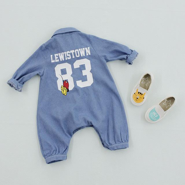 A roupa Do Bebê recém-nascido Bonito Animais Bodysuit Roupas de Marca Menino Unisex Do Bebê Traje Infantil Macacões de Manga Longa Meninas Do Bebê Roupas