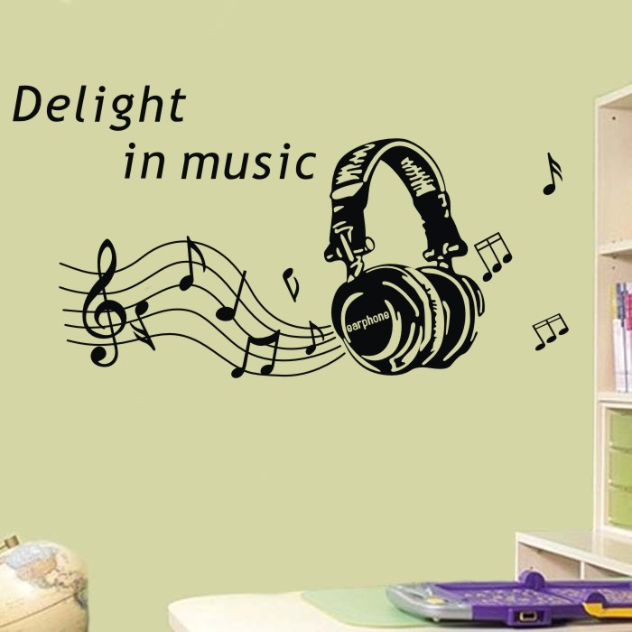 Awesome Music Notes Wall Art Frieze - Wall Art Design ...