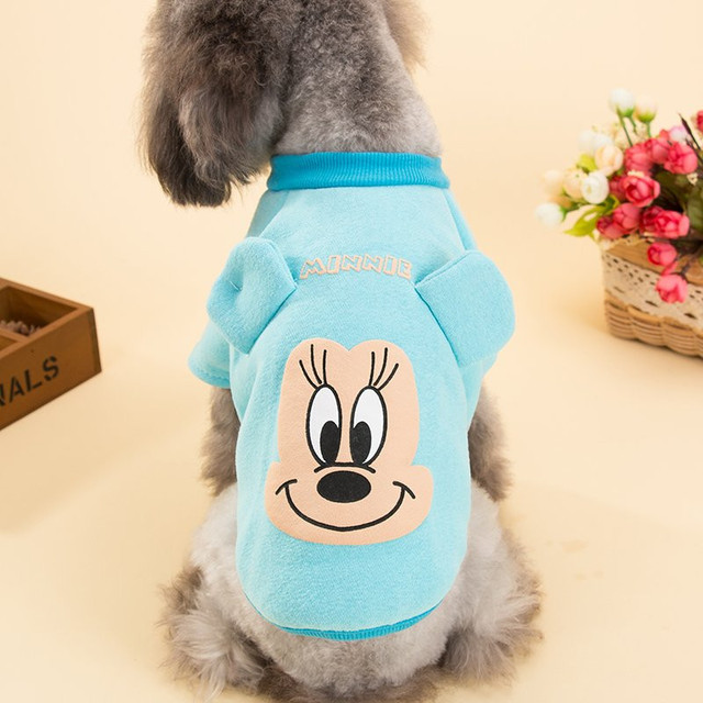Cute Cartoon Pet Puppy Dog Clothes Small Dog Cat Coat Sweater Pet ...