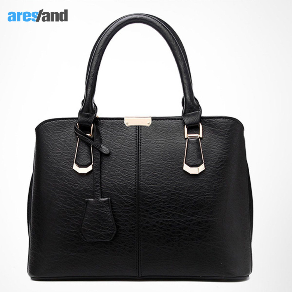 Aresland Luxury Women's Handbags Leather Women Handbag Shoulder Bag Ladies Cross Body Bags Tote Messenger Bolsa feminina Bolsas 2017 new women leather handbags fashion shell bags letter hand bag ladies tote messenger shoulder bags bolsa h30
