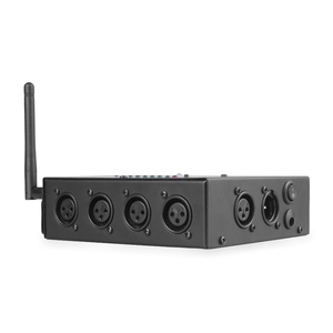 Image 4 - ALIEN 8 דרך אלחוטי DMX 512 3 פינים מבודד ספליטר מגבר עם Wireless DMX משדר מקלט עבור DJ דיסקו שלב אורות