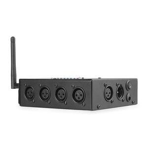 Image 4 - ALIEN 8 Way Wireless DMX 512 3 Spille Isolato Splitter Amplificatore con Wireless DMX Ricetrasmettitore Ricevitore per DJ Della Discoteca luci del palcoscenico