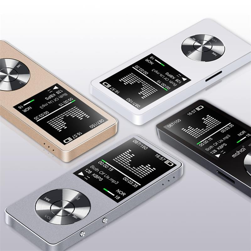 Original 8GB/16GB HiFi MP3 Player with Speaker Metal APE/FLAC/WAV High Sound Quality Entry-level Lossless Music Player with FM