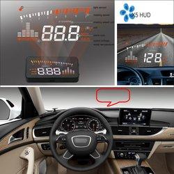 Liislee dla Audi A6 C6 RS6 2005 2006 2007 2008 2009-HUD wyświetlacz Head Up-bezpiecznej jazdy ekran projektora do szyb samochodowych