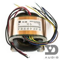 55VA Input: 0 115V Output: 0 180V 250V 330V (120mA) /dual 0 6.3V (1A)/ 55W R type transformers