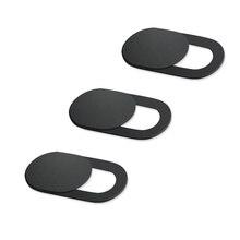 3 шт. универсальная веб-камера крышка затвора Магнитный слайдер Пластиковая крышка камеры для IPhone ПК ноутбуки мобильный телефон объектив стикер конфиденциальности