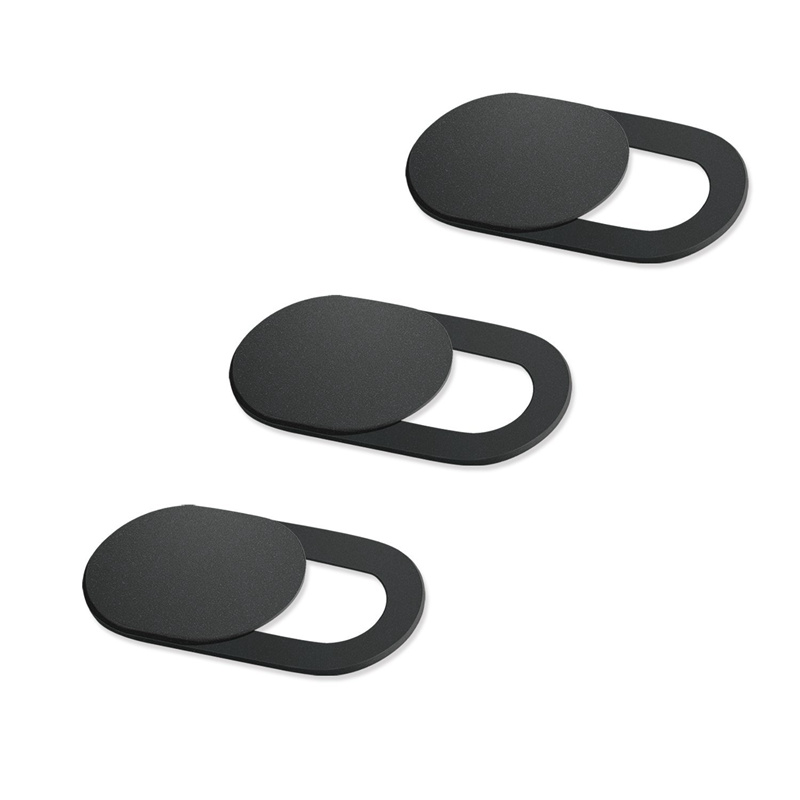 3Pcs Universal WebCam Cover Shutter Magnet Slider Plastic Camera Cover For IPhone PC Laptops Mobile Phone Lens Privacy Sticker