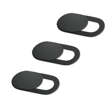 3Pcs Universal WebCam Cover Shutter Magnet Slider Plastic Ca