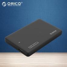 ORICO 1 TB hdd rack herramienta de envío USB 3.0 a sata 3.0 caja hdd ssd 2.5 7mm 9.5mm caja Externa de Disco Duro notebook (único Caso)