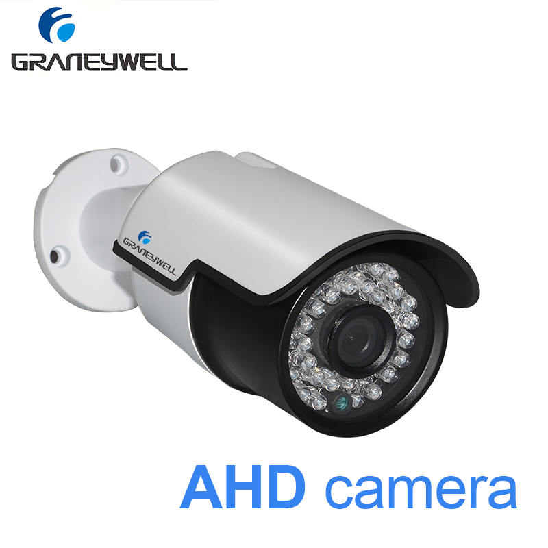 GRANEYWELL Security Camera Waterproof Bullet CCTV Video Surveillance White Camera AHD 1080p Nghit Vision Home DVR Monitor CameraGRANEYWELL Security Camera Waterproof Bullet CCTV Video Surveillance White Camera AHD 1080p Nghit Vision Home DVR Monitor Camera