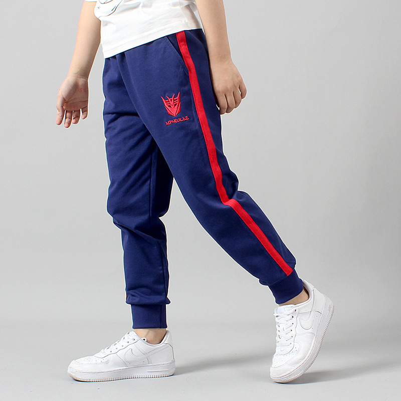 Image 4 - Retail New Warm Velvet Pants For 3 16Y Yeas Solid Boys Girls Casual Sport Pants Jogging Enfant Garcon Kids Children Trousers-in Pants from Mother & Kids