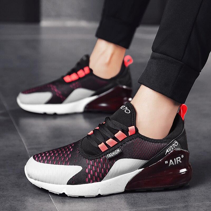 Мужская спортивная обувь, дышащие кроссовки высокого качества, 270