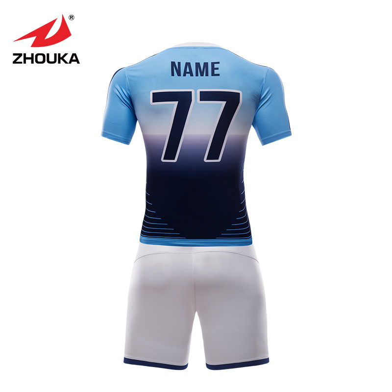 43a221e32 Custom best thai quality soccer jerseys polyester quick dry soccer uniforms  sets sublimation men thailand football shirts-in Soccer Sets from Sports ...