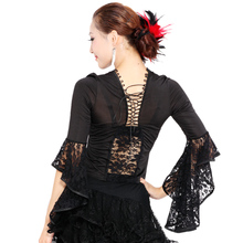 Latin dance performance wear modern top hb106