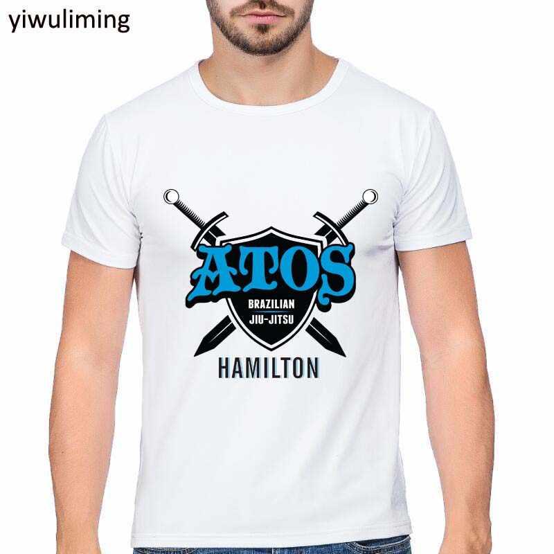 Brazilian Jiu Jitsu Tshirt Kata Cina Tee Shirt Homme Profesi Keterampilan Kreatif Desain Top Kasual T-shirt