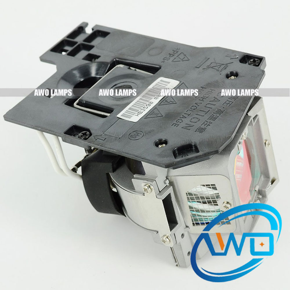 AWO Free Shipping 330-9847/725-10225 Original P-VIP Bulb inside with New Housing for Dell S300/S300W/S300WI 330 9847 725 10225 replacement projector lamp with housing for dell s300 s300w s300wi projectors happy bate